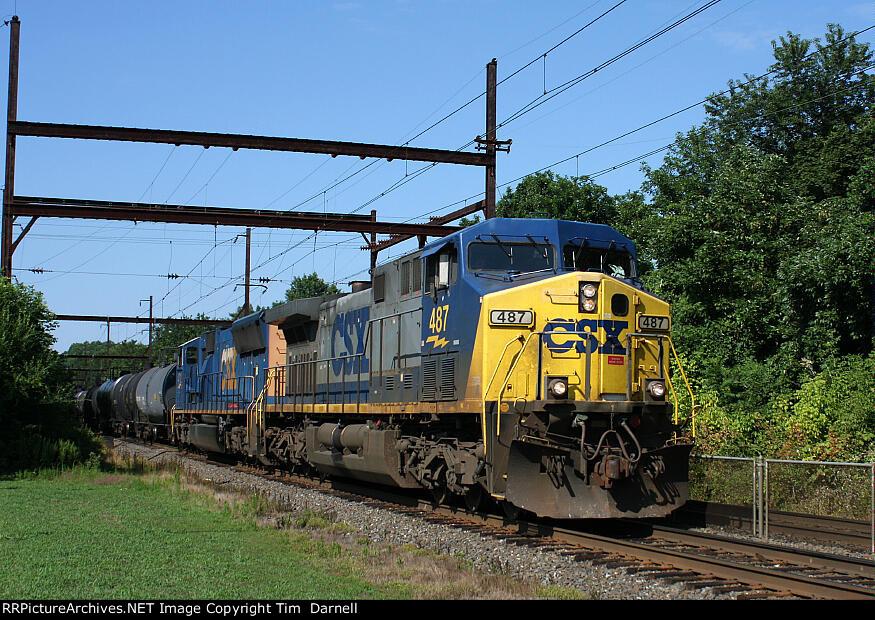 CSX 487 on Q418